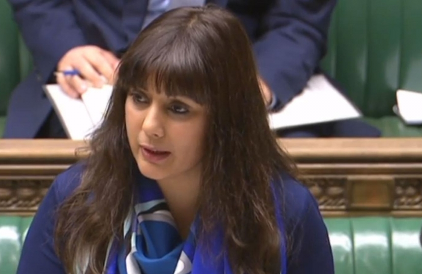 Nus Ghani at the Despatch Box