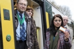 Nus Ghani at local train station