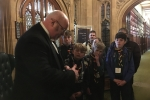 Crowborough Scouts with a Parliamentary Doorkeeper