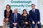 Left to Right: Denise Westbury-Haines (BT Openreach), Cllr. Bob Standley, Nusrat Ghani MP, Kieran Wines (BT Openreach)