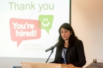 "Nus Ghani gives keynote address to ""You're Hired"" East Sussex apprenticeship campaign launch event."
