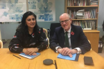 Nus Ghani meets Education Minister to discuss Fletching Consultation