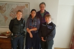 Nus Ghani with Sussex Police.